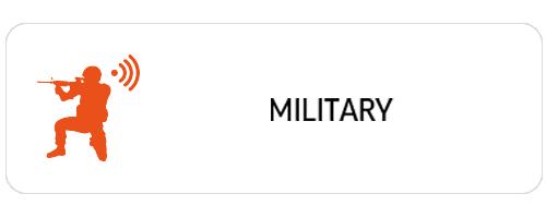 위고스의 비지니스 필드에는 military가 있습니다