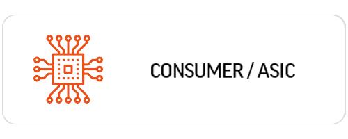 위고스의 비지니스 필드에는 consumer/asic가 있습니다